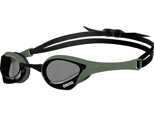 arena Cobra Ultra Goggles, smoke-army-black